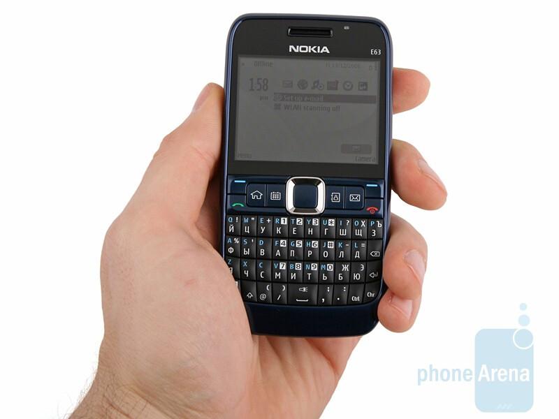 Nokia E63 Review