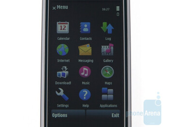 3.2-inch display - Nokia 5800 XpressMusic Review