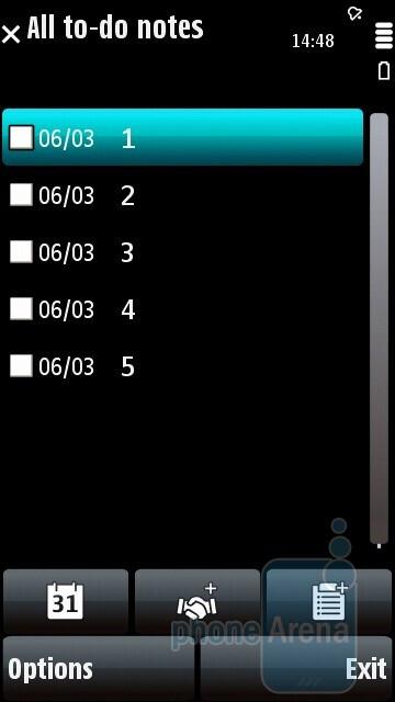 Nokia 5800 Xpressmusic Review Organizer And Software