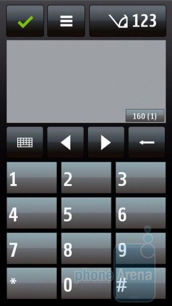 Numeric keypad - Nokia 5800 XpressMusic Review