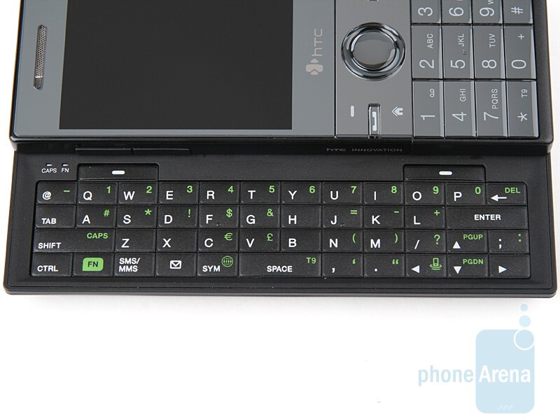 QWERTY keyboard - HTC S740 Review