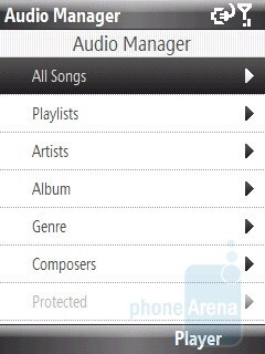 HTC Audio Manager - HTC S740 Review