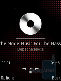 Music player - Samsung I7110 Preview