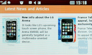 Internet browser - LG Cookie Review