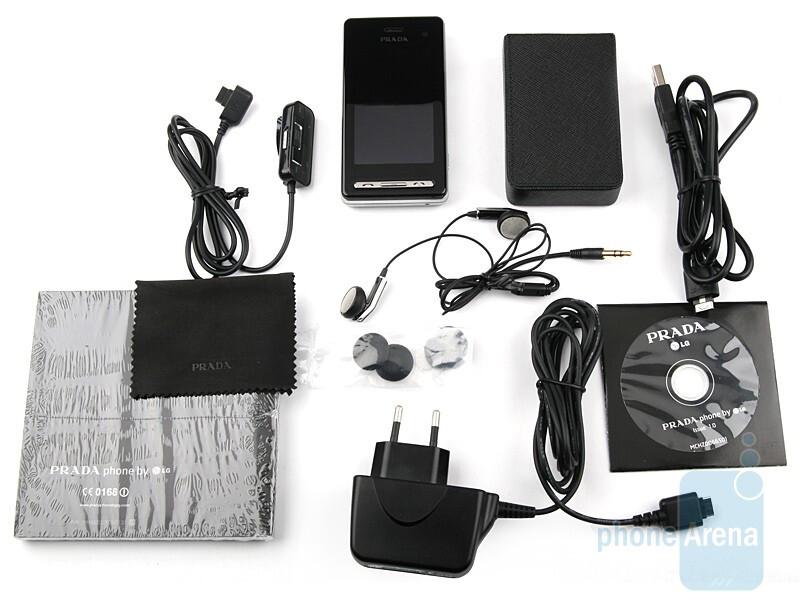 LG Prada II, More Specifications