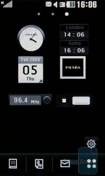 Widgets - LG PRADA II Review