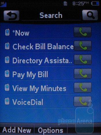 Phonebook - AT&T Quickfire Review