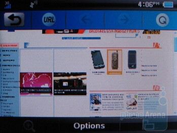 Web browser - AT&T Quickfire Review
