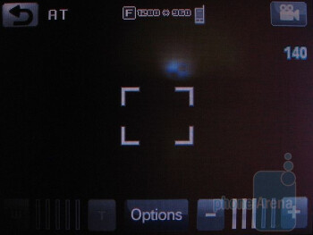 Camera interface - AT&T Quickfire Review