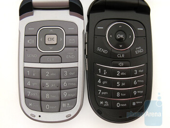 LG VX8360 (left) next to LG VX8350 (right) - LG VX8360 Review