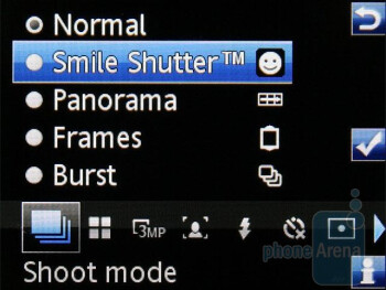Camera interface - Sony Ericsson C510 Preview