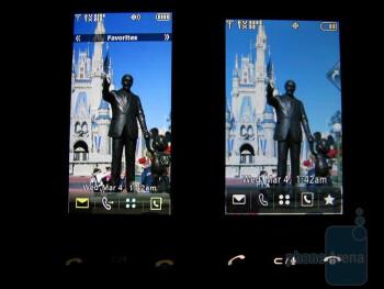 left - LG Versa, right - LG Dare - LG Versa Review