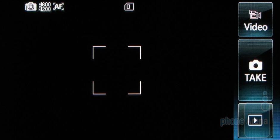 Camera interface - LG Versa Review