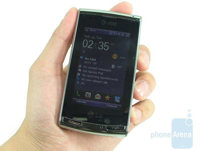 lg incite review rh phonearena com Verizon LG Flip Phone Manual Verizon LG Instruction Manual