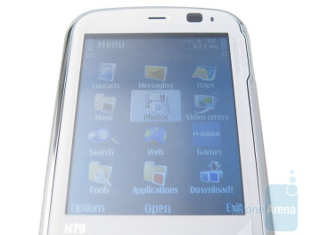 Bright display - Nokia N79 Review