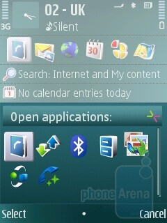 Task manager - Nokia N79 Review