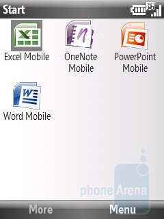 Office tools - Pantech Matrix Pro Review
