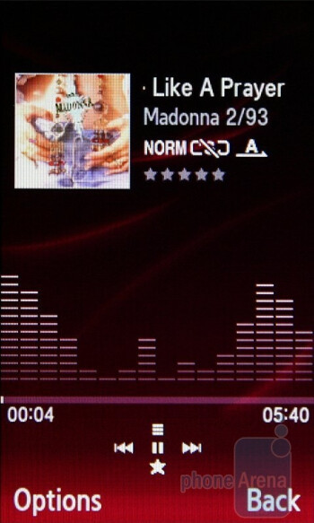 Music player - Samsung Ultra S Preview