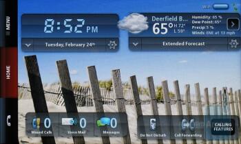 Home Screen - Verizon Hub Review