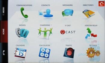 Main menu - Verizon Hub Review