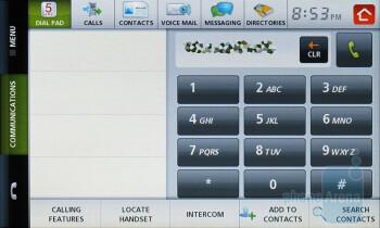 Dial pad - Verizon Hub Review