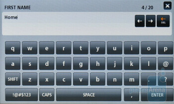 Adding new contact - Verizon Hub Review