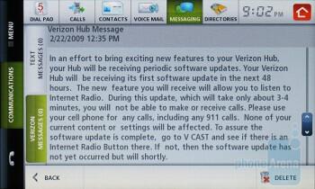 Messaging - Verizon Hub Review