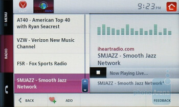 Streaming Internet Radio - Verizon Hub Review