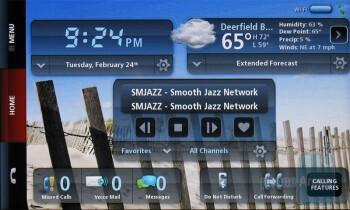 Music widget - Verizon Hub Review