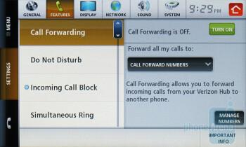 Settings - Verizon Hub Review