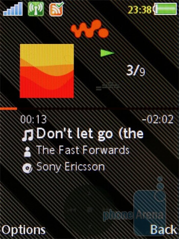 Walkman 3.0 player - Sony Ericsson W995 Preview