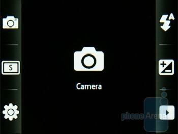 Camera interface - Samsung S5600 Preview
