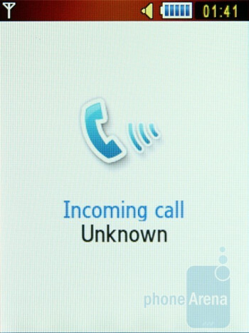 Fake call - Samsung S5600 Preview