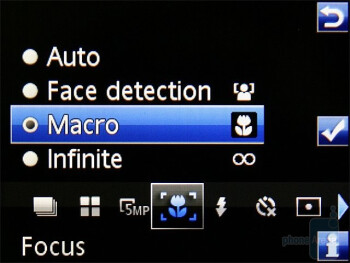 Camera interface - Sony Ericsson C903 Preview
