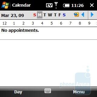 Calendar - Palm Treo Pro CDMA Review