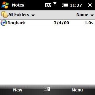 Notes - Palm Treo Pro CDMA Review