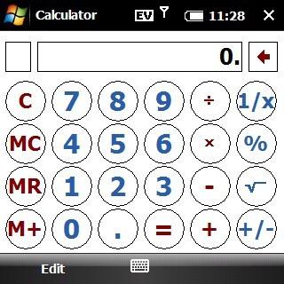 Calculator - Palm Treo Pro CDMA Review