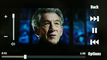 RealPlayer - Samsung OMNIA HD Preview