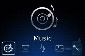 Music player - BlackBerry Bold Review