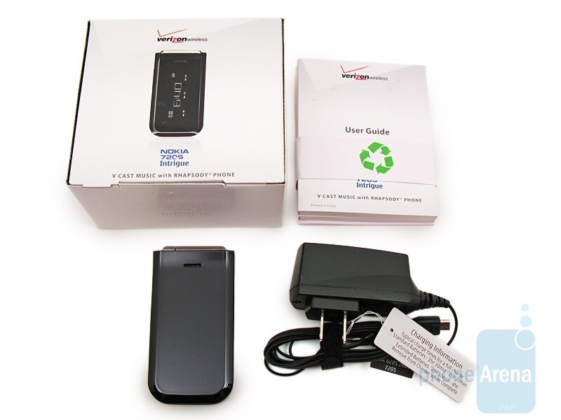 Package content - Nokia 7205 Intrigue Review