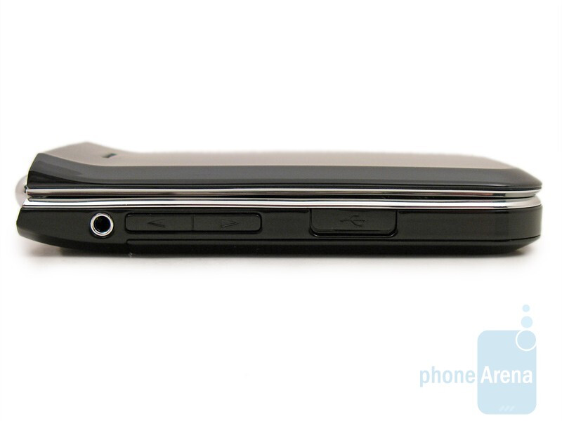 Left side - Nokia 7205 Intrigue Review