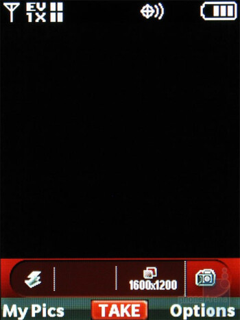 Camera interface - Nokia 7205 Intrigue Review