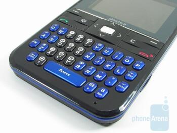 QWERTY keyboard - Pantech Slate Review