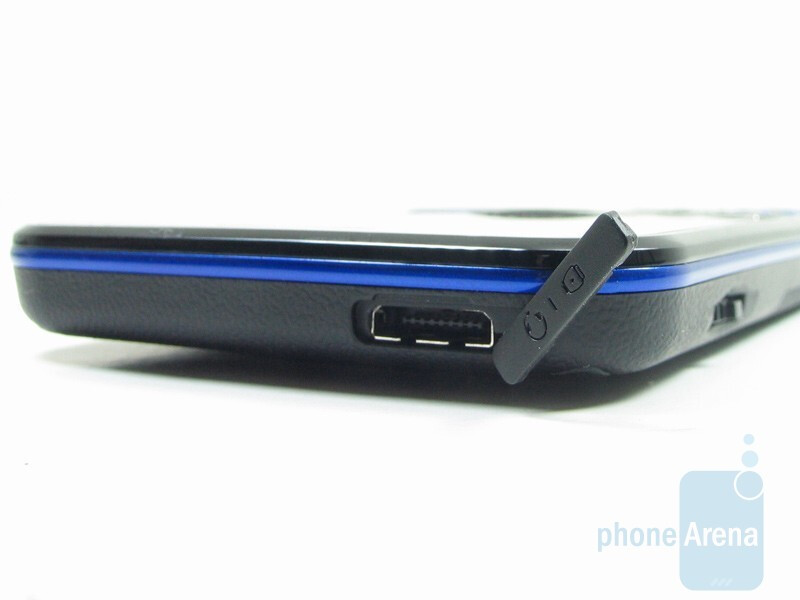 Charging/USB port - Pantech Slate Review