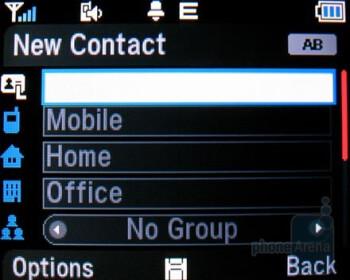 Phonebook - Pantech Slate Review
