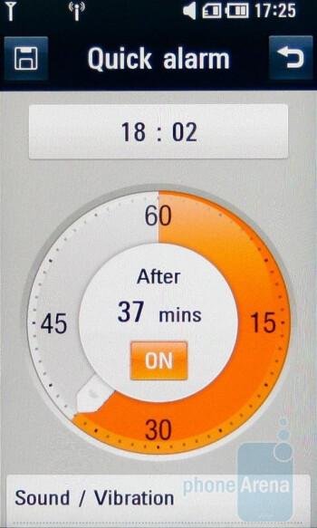 Alarm - LG ARENA Preview