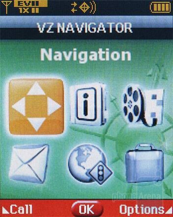 VZ Navigator - Verizon Wireless CDM8975 Review