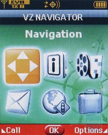 VZ Navigator - Verizon Wireless CDM8975 Review