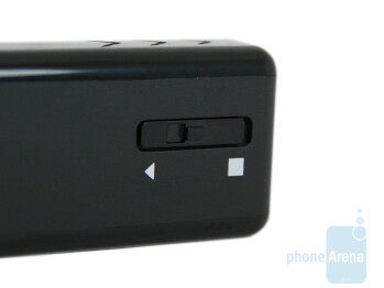 The power button on the backside - Nokia Mini Speakers MD-4 Review