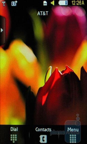 Home screen - Samsung Impression Review
